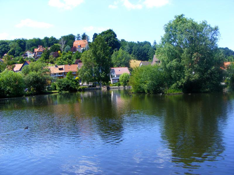 über Ilsenburg